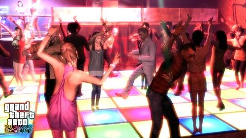 GTA IV: The Ballad Of Gay Tony - Dancing