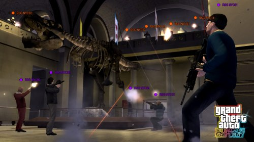 GTA IV: The Ballad Of Gay Tony - Deathmatch