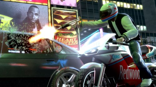 GTA IV: The Ballad Of Gay Tony - Gold SMG