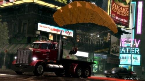 GTA IV: The Ballad Of Gay Tony - Parachute