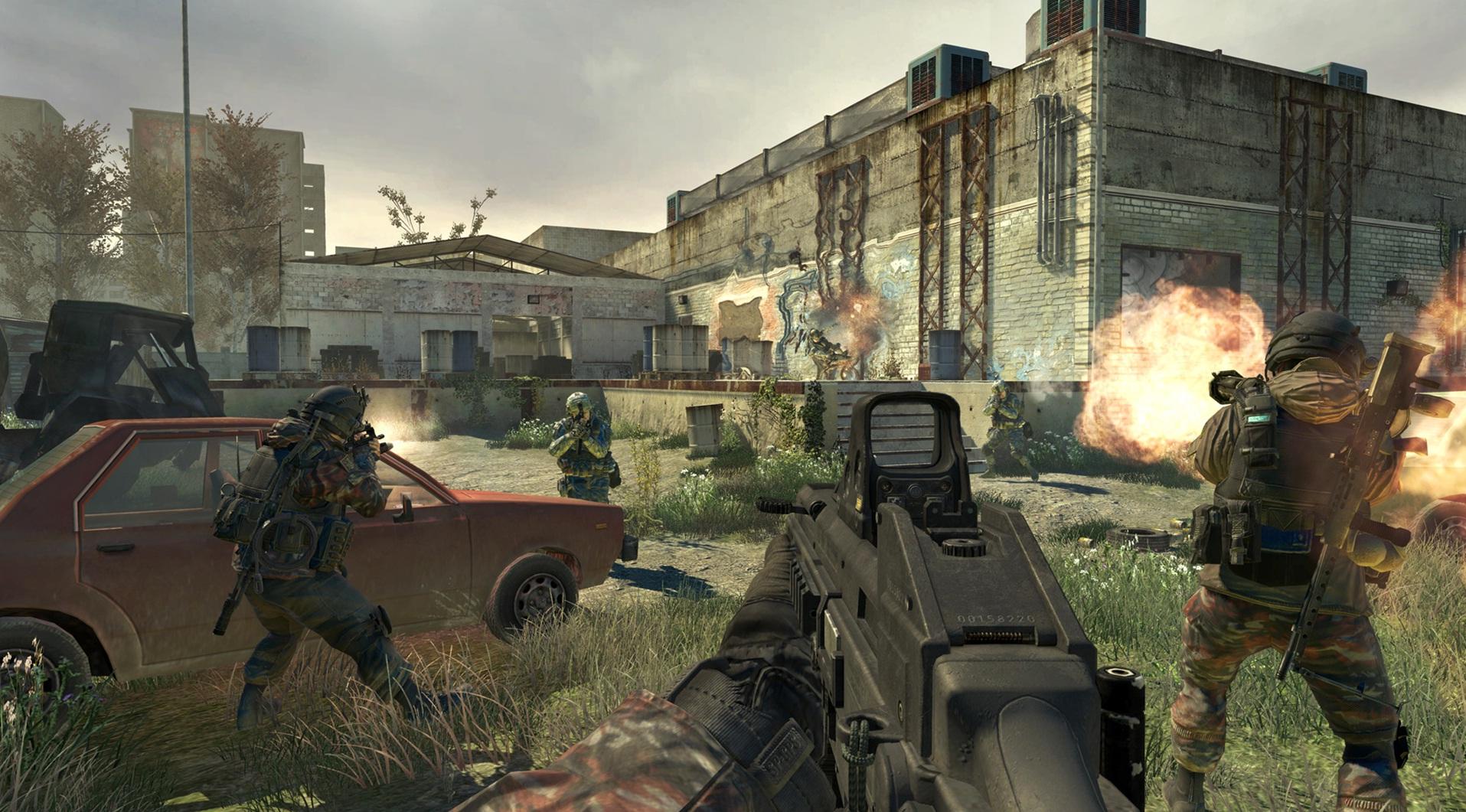 Modern Warfare 2 Resurgence Vacant